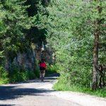 Mountainbike auf Cisloner Straße