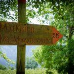 Wegweiser in Unterfennberg