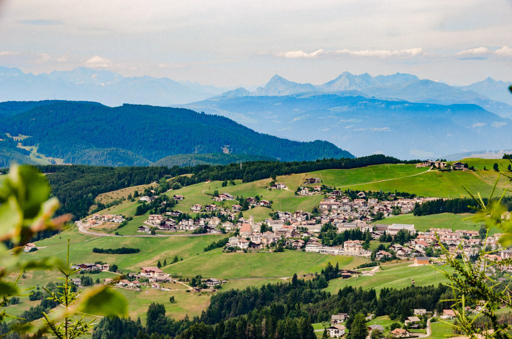 Dorf Deutschnofen