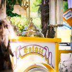 Eiswagen des Hotel Seegarten am Kalterer See