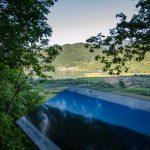 Blick auf den Kalterer See am Naturerlebnisweg Tramin