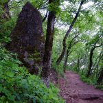 Hinkelstein am Naturerlebnisweg Tramin