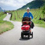 Kinderwagen tauglicher Spazierweg