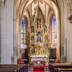 Alter der Pfarrkirche Deutschnofen