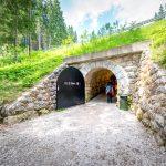 Tunnelverbindung Karersee - Parkplatz