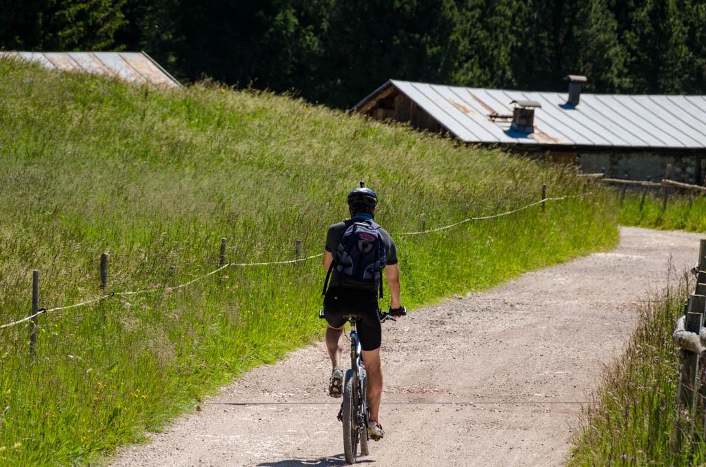Mountainbiken am Jochgrimm