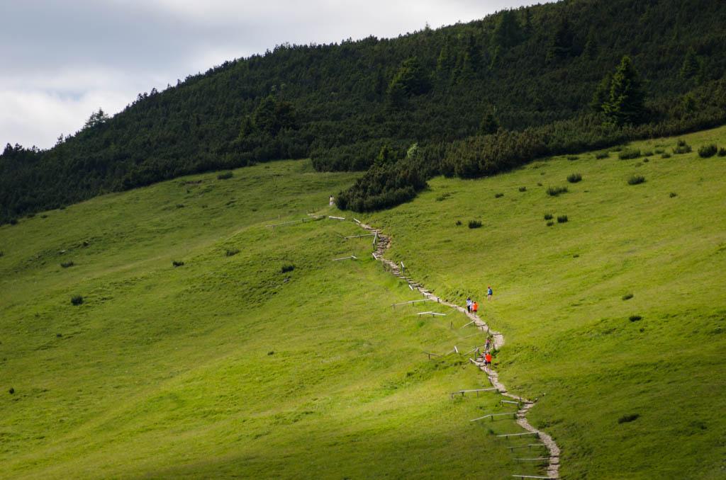 Wanderweg zum Weißhorn