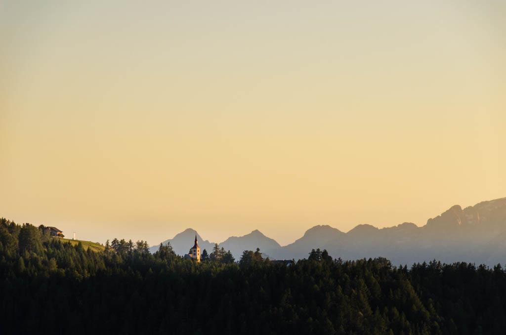 Sonnenuntergang Petersberg