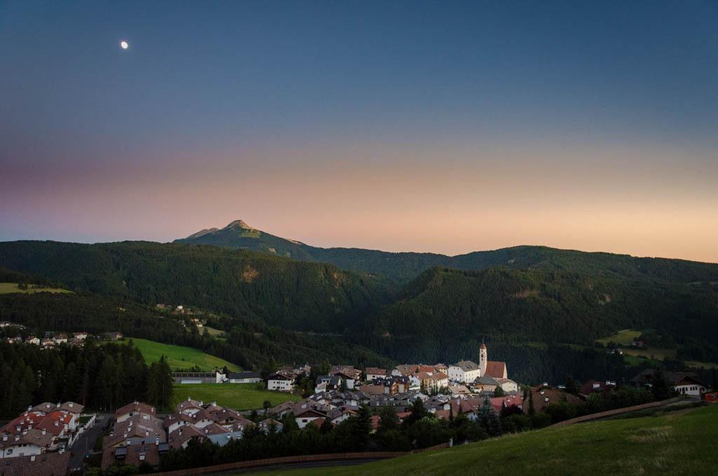 Sonnenuntergang in Deutschnofen