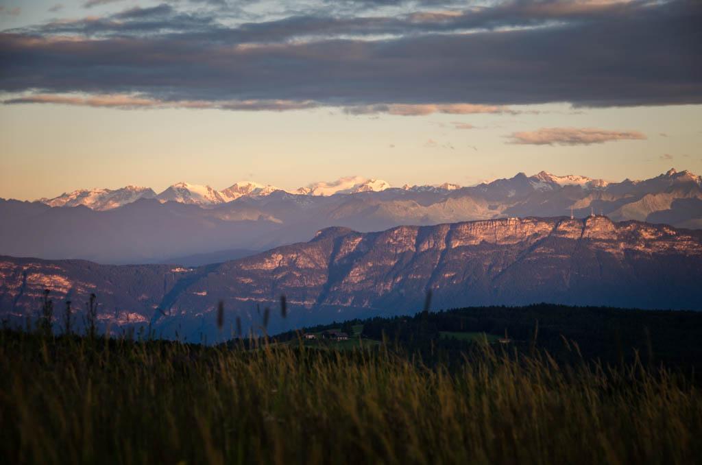 Sonnenaufgang Mendelgebirge