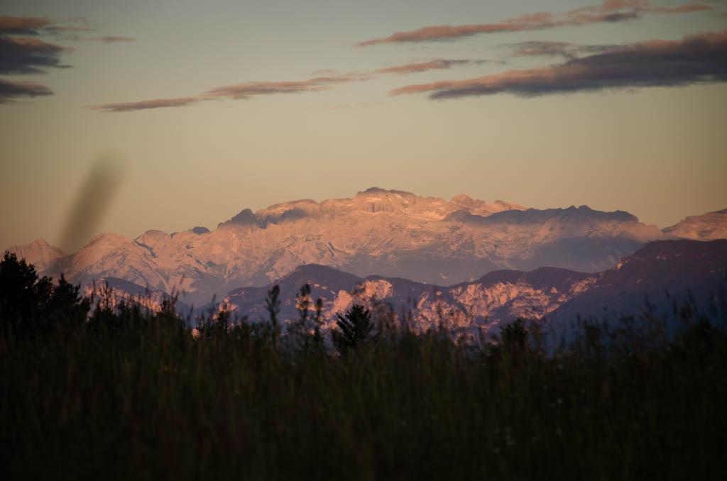 Sonnenaufgang Brenta