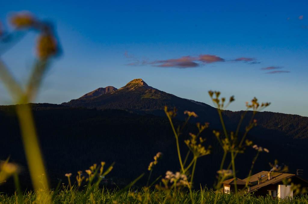 Sonnenaufgang Weißhorn