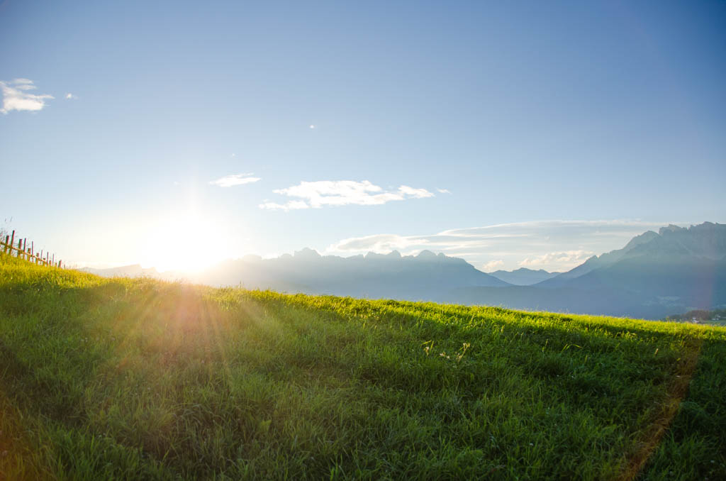 Sonnenaufgang Dolomiten