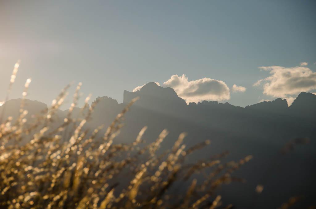 Sonnenaufgang Rosengartenspitze