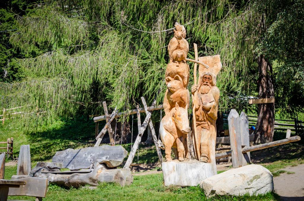 Skulptur Tierwelt Rainguthof