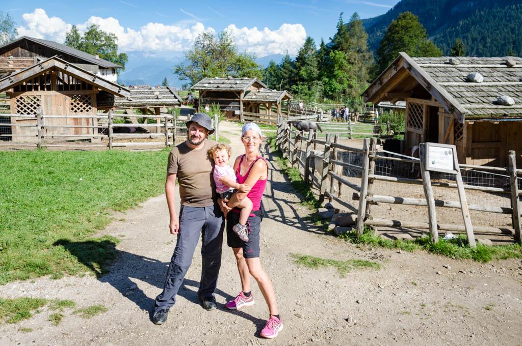 Dietmar, Anni, Anna in der Tierwelt Rainguthof