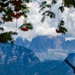 Rosengartenspitze in den Wolken