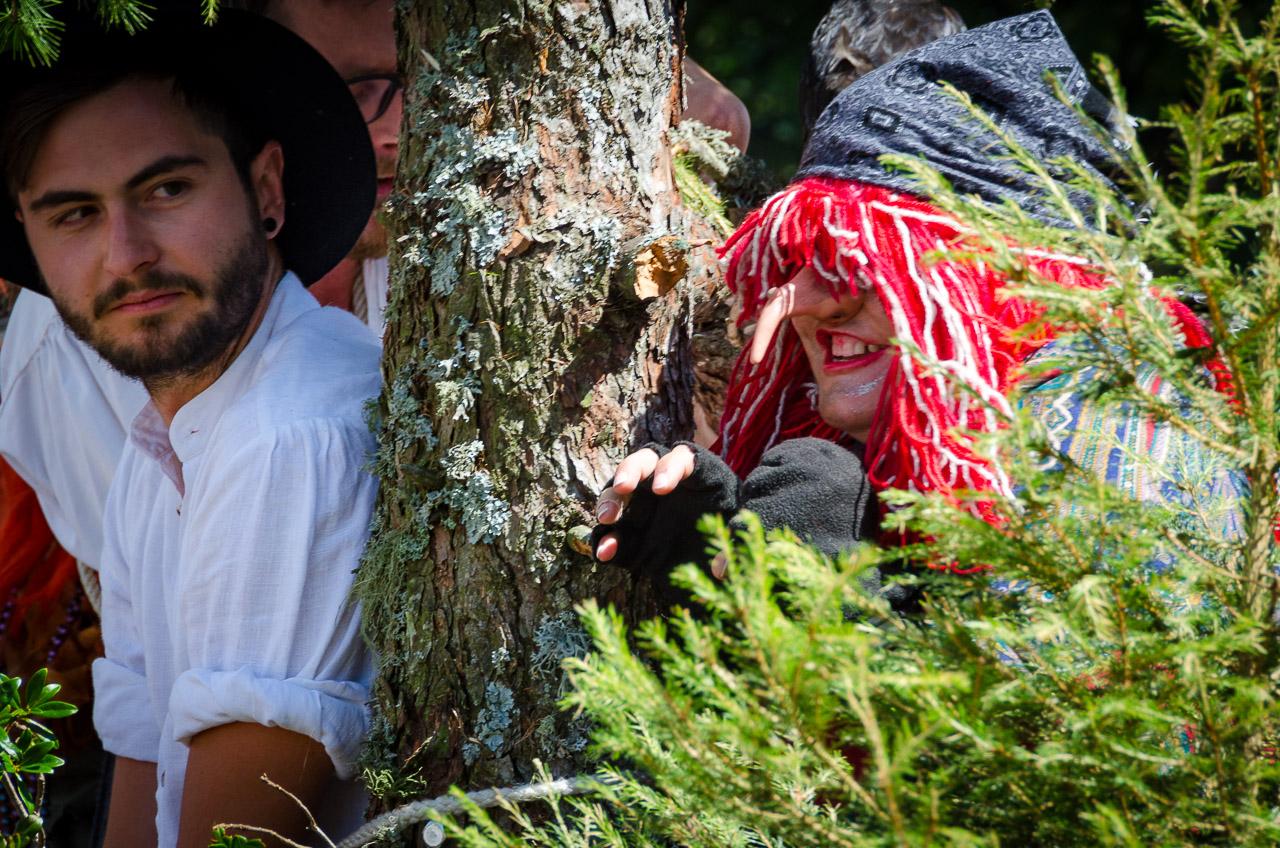 Trachtenumzug zu Maria Himmelfahrt in Oberbozen