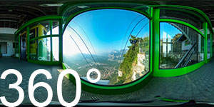 360° Bergstation Seilbahn Monte di Mezzocorona
