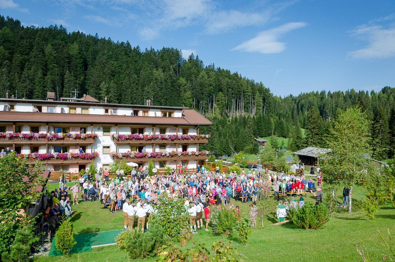 360° Messe Hotel Moseralm Schupfenwanderung Karerpass