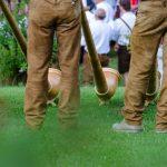 Alphornbläser bei der König Laurin Schupfenwanderung