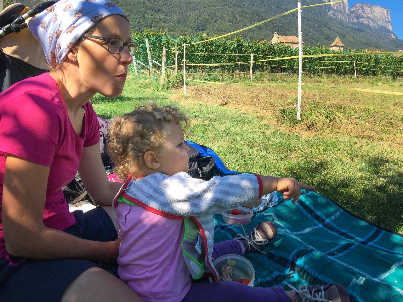 Picknick Anni und Anna