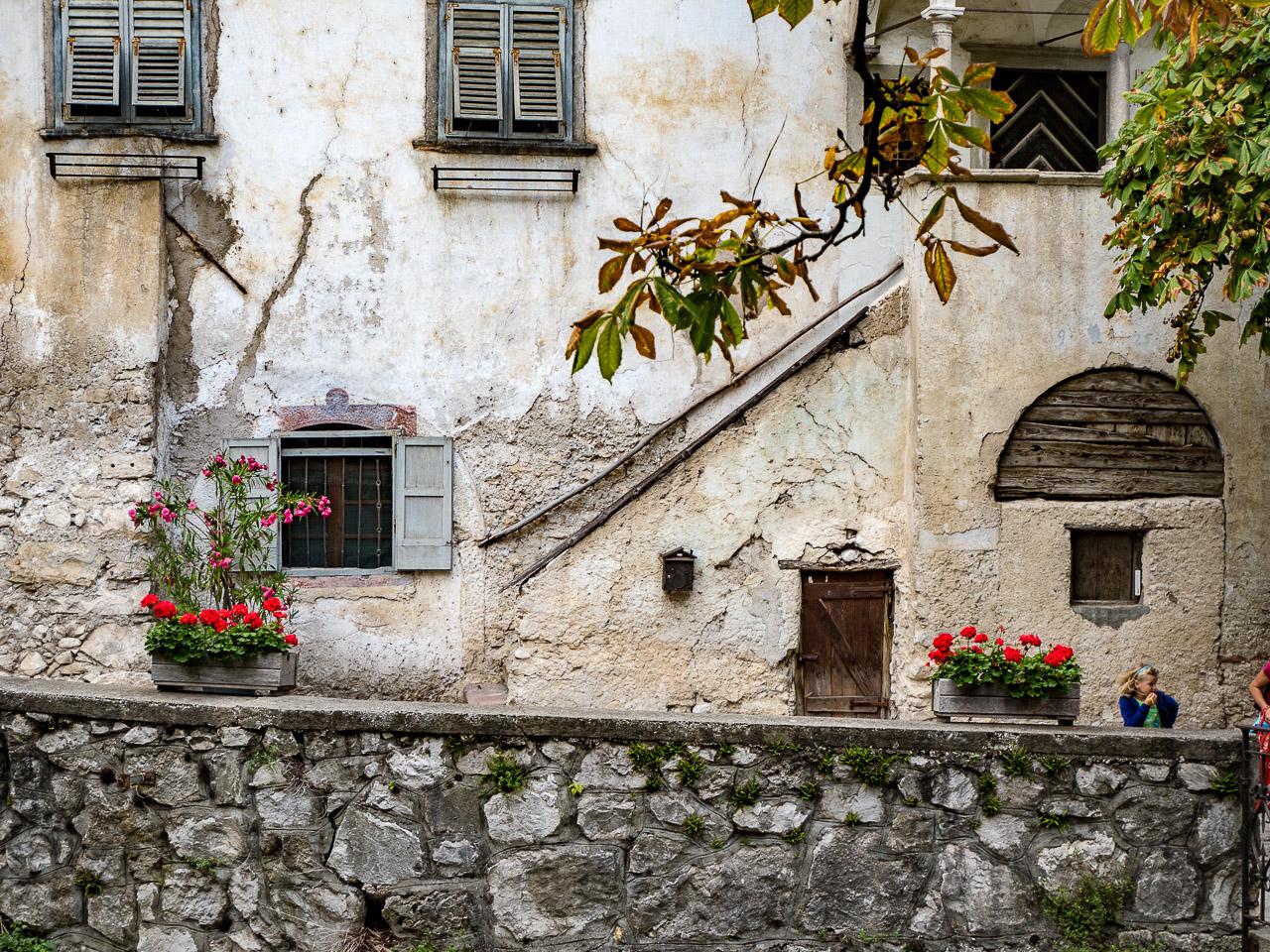 alte Fassade in Margreid