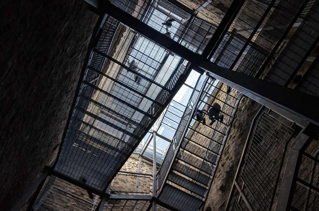 Treppenaufgang Pulverturm Meran