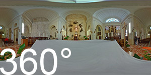 Innenansicht Basilika Madonna della Corona