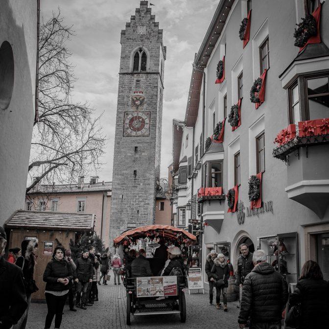 Altstadt Sterzing - Blick auf den Zwölferturm