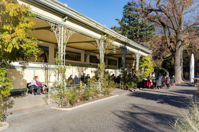 Die Meraner Winterpromenade - Jugendstil-Wandelhalle