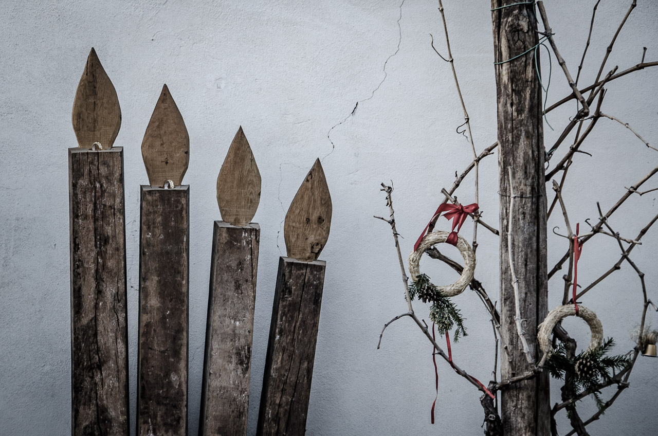 Kunstwerk aus Dauben in Girlan