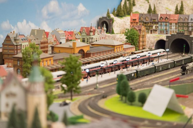 Modelleisenbahn Ausstellung
