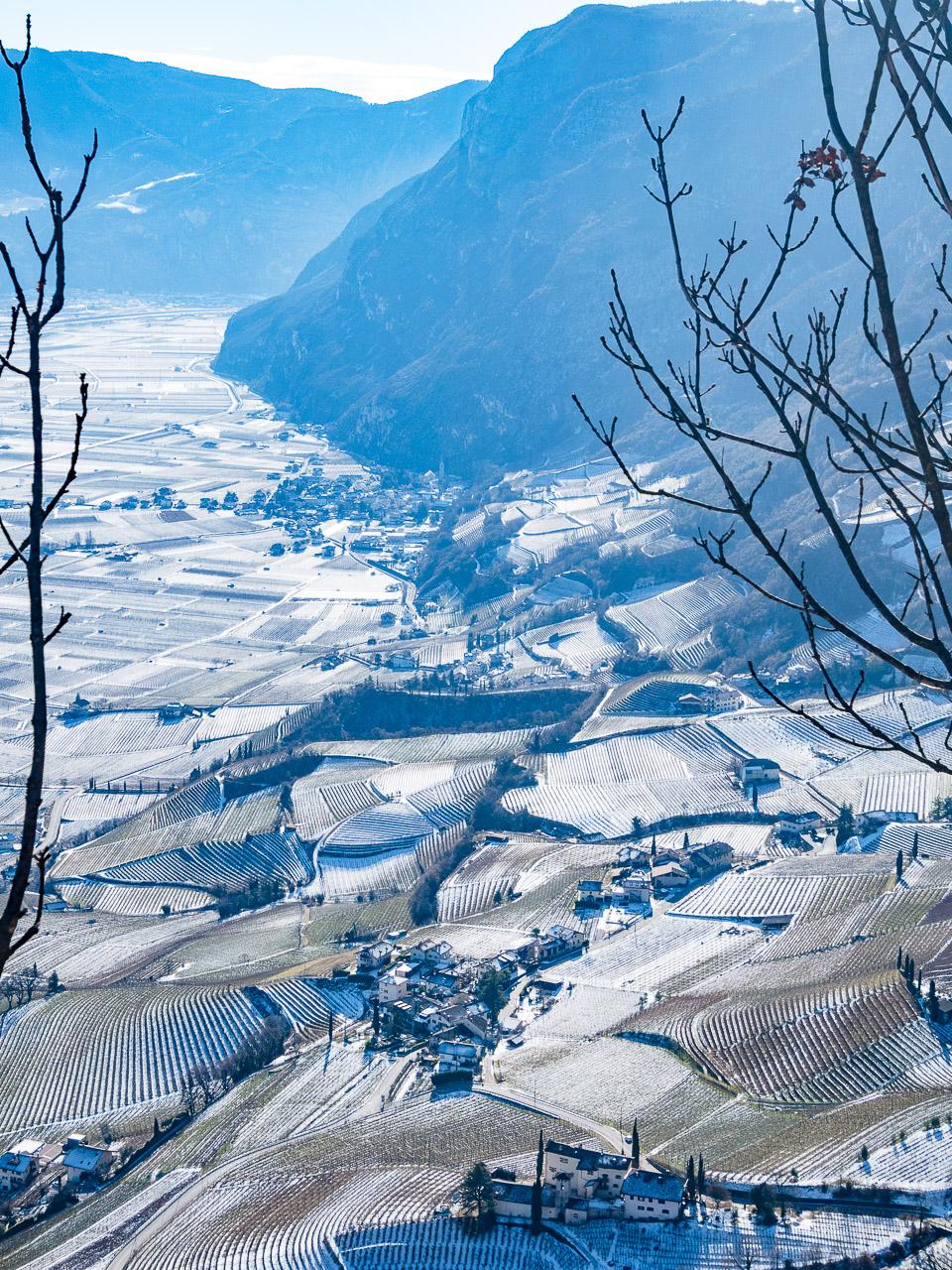 Kurtatsch im Winter