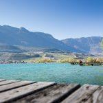 Kalterer See mit Blick auf Kaltern
