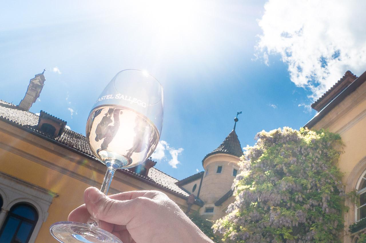 Weißwein Castel Sallegg