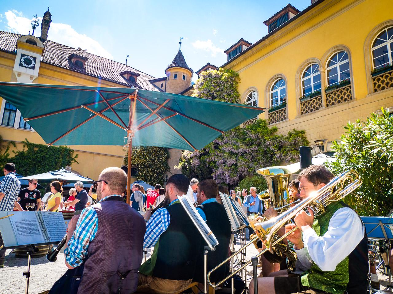 Castel Sallegg am Weinwandertag