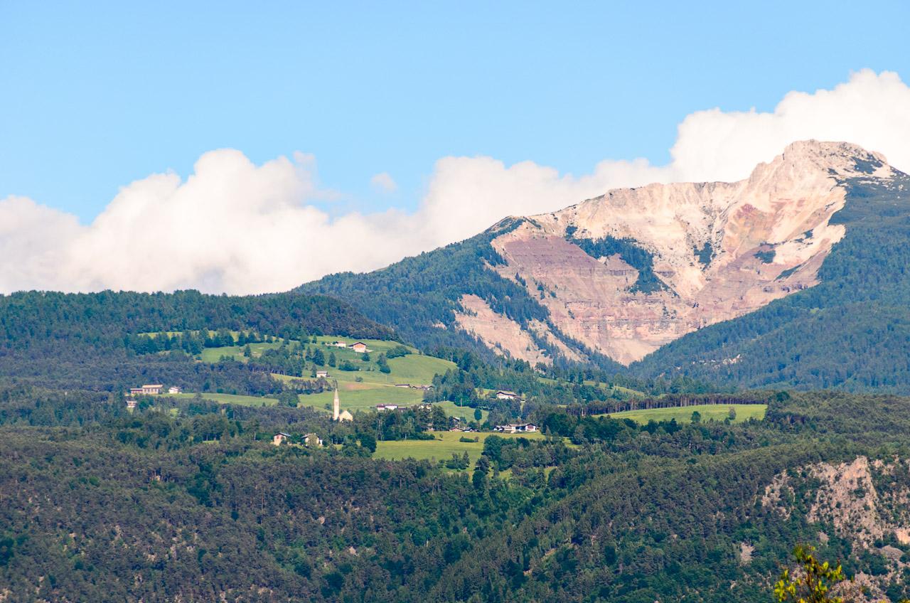 Weißhorn mit Bletterbach