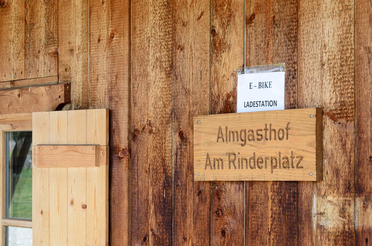 E-Bike, Rinderplatzhütte