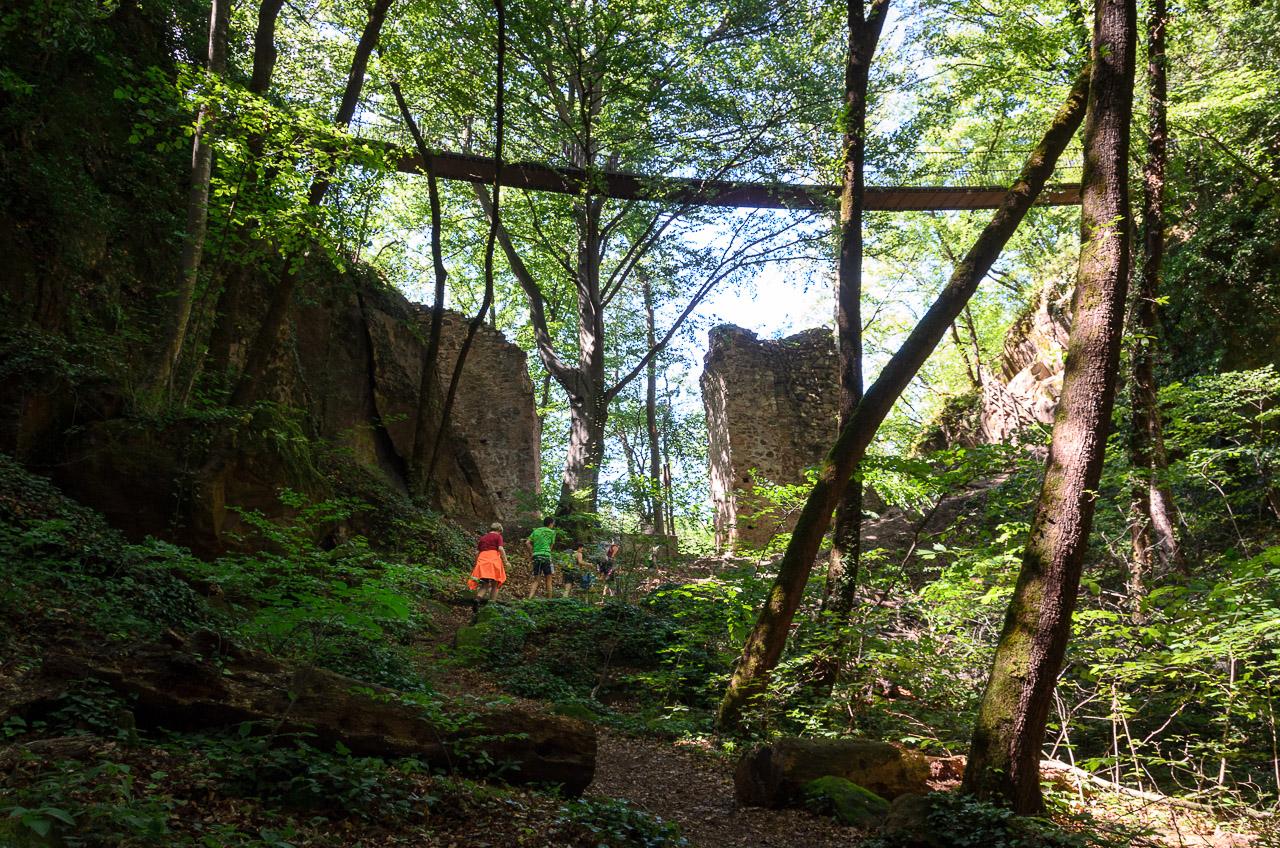 Wanderung Friedensweg Altenburg Kaltern