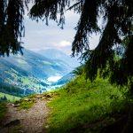 Ultner Höfeweg - Blick zum Zoggler Stausee