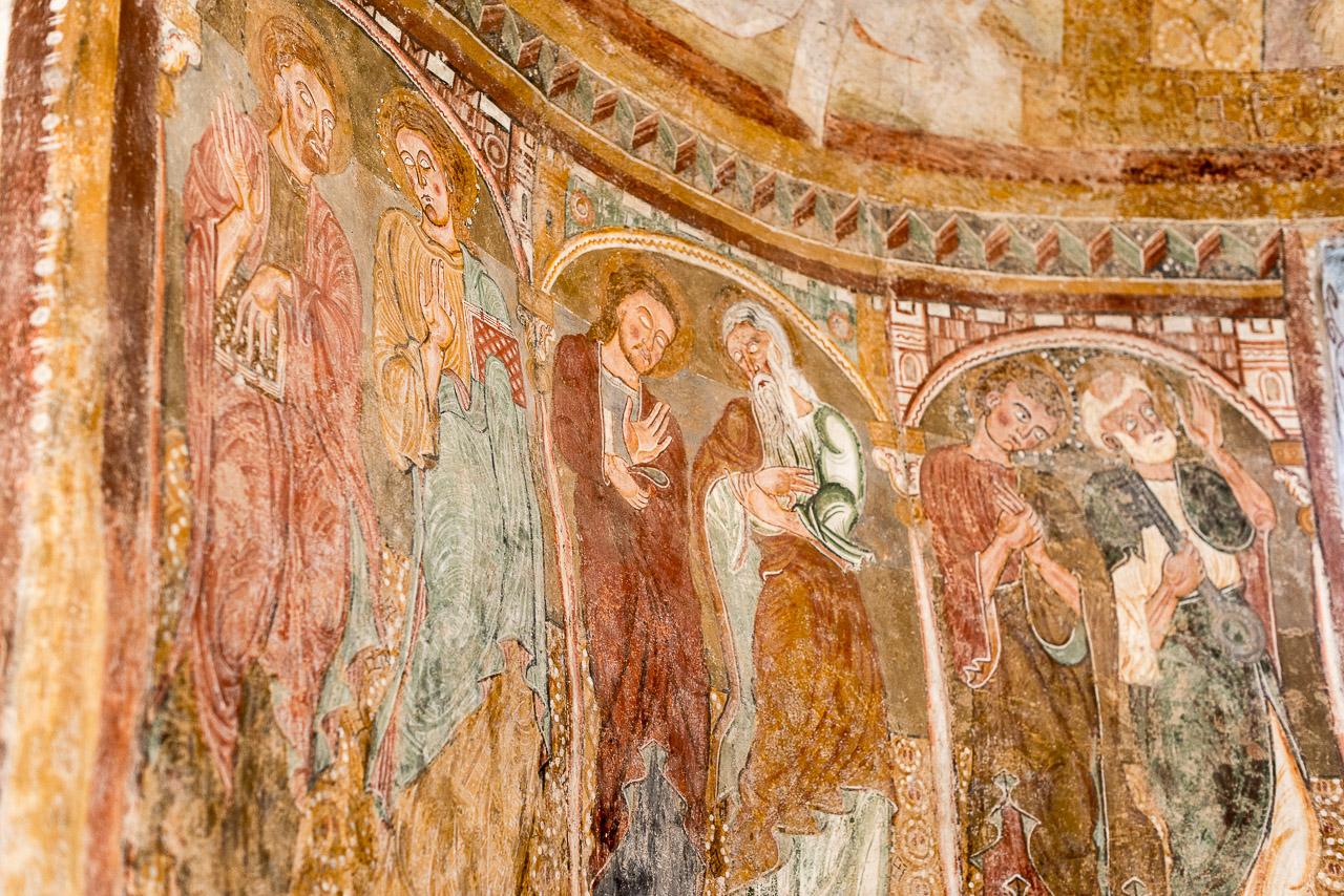 Fresken im St. Jakob Kirchlein