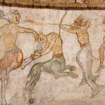 Fresken Bestiarien im St. Jakob Kirchlein