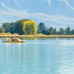 Kalterer See, Tretboot