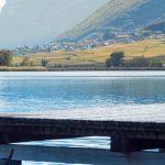 Steg Klughammer am Kalterer See