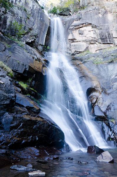 Barbianer Wasserfälle - Oberer Wasserfall