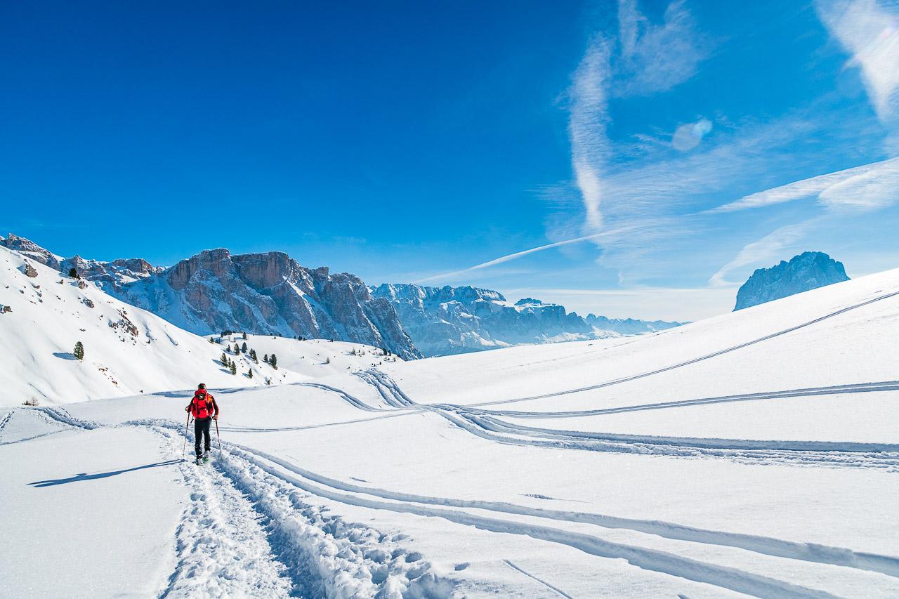 Schneeschuhwandern im Herzen der Dolomiten