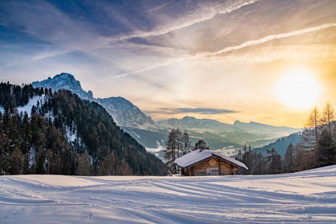 Abstieg zur Talstation der Col Raiser Umlaufbahn
