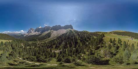 360° unter den mächtigen Geislerspitzen - Dolomiten pur!