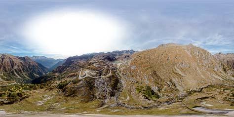 360° Malga Plozze, Rifugio Cornisello und Laghi di Cornisello